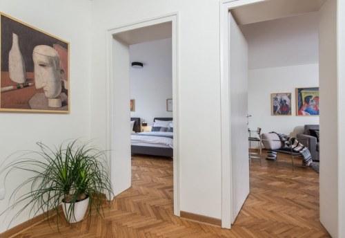 Apartmani Beograd | Sa terasom | Apartman A30 - Pogled iz hodnika