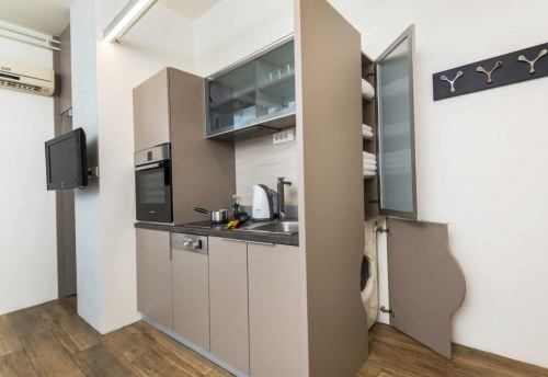 Apartmani Beograd | Jeftin smeštaj Beograd | Apartman A2 - Kuhinja