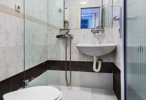 Apartmani Beograd | Najjeftiniji smeštaj | Apartman A0' - Kupatilo