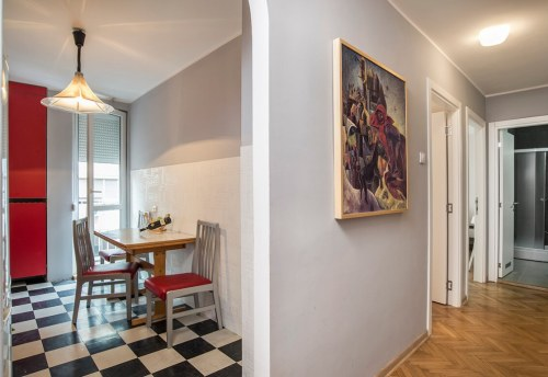 Apartmani Beograd | Apartman A42 | Nušićeva Terazije - Pogled iz hodnika
