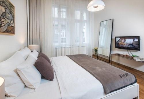 Apartmani Beograd | Pešačka zona | Apartman A12 - Spavaća soba