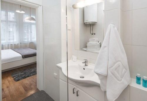 Apartmani Beograd | Pešačka zona | Apartman A12 - Kupatilo