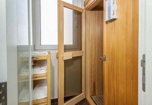 Apartmani Beograd | Luksuzni apartmani Beograd | Apartman A14 - Ulaz u saunu