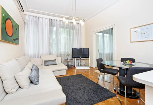 Apartmani Beograd | Apartman A9 | Strogi centar Kalemegdan - Dnevni boravak i trpezarija