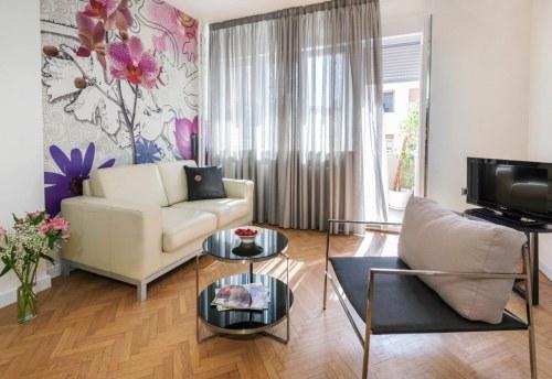 Apartmani Beograd | Luksuzni apartmani Beograd | Apartman A14 - Dnevni boravak
