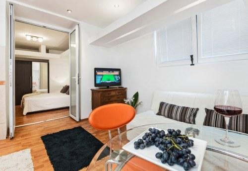 Apartmani Beograd | Najjeftiniji smeštaj | Apartman A0' - Dnevni boravak