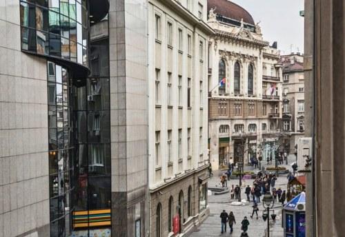 Apartmani Beograd | Strogi centar | Apartman A21 - Pogled iz stana