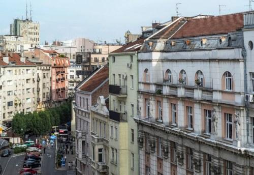 Apartmani Beograd | Apartman A38 | Centar stan na dan Beograd - Pogled iz apartmana