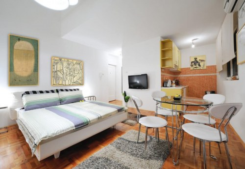 Apartmani Beograd | Sa parkingom | Apartman A15 - Pogled na ceo stan