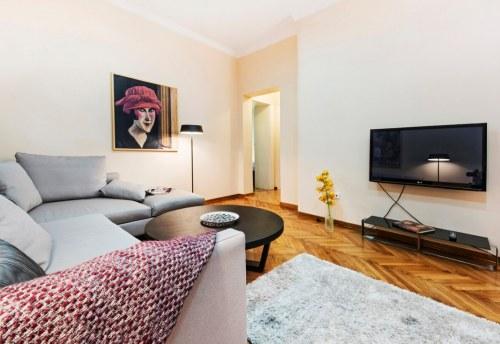 Apartmani Beograd | Apartman A18 | Pešačka zona - Dnevni boravak