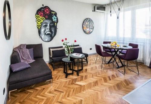 Apartmani Beograd | Apartman A37 | Sa parkingom - Dnevni boravak i trpezarija