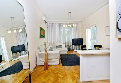 Apartmani Beograd | Apartman A9 | Strogi centar Kalemegdan - Dnevni boravak