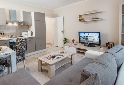Apartmani Beograd | Lux apartmani Beograd | Apartman A31 - Dnevni boravak, kuhinja i trpezarija
