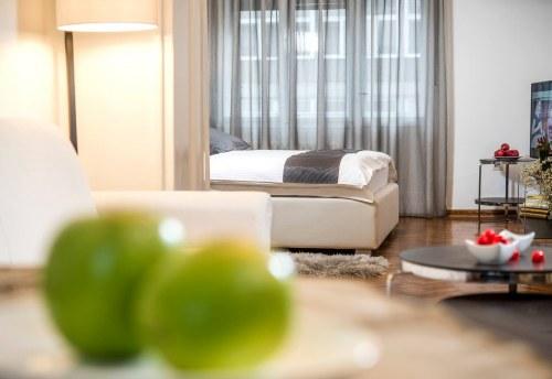 Apartmani Beograd | Stan na dan u Beogradu | Apartman A27 - Pogled na spavaću sobu