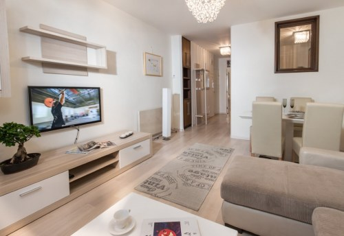 Apartmani Beograd | Centar | Apartman A32 - Dnevni boravak i trpezarija