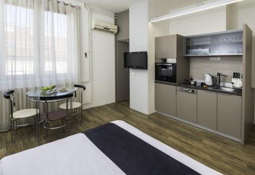 Apartmani Beograd | Luksuzni apartmani u Beogradu | Apartman A34 - Dnevni boravak