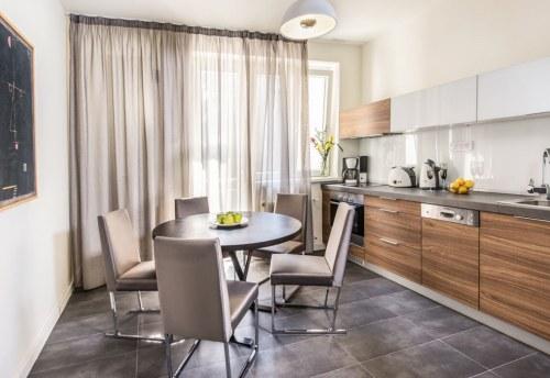 Apartmani Beograd | Smeštaj u Beogradu | Apartman A8 - Kuhinja i trpezarija