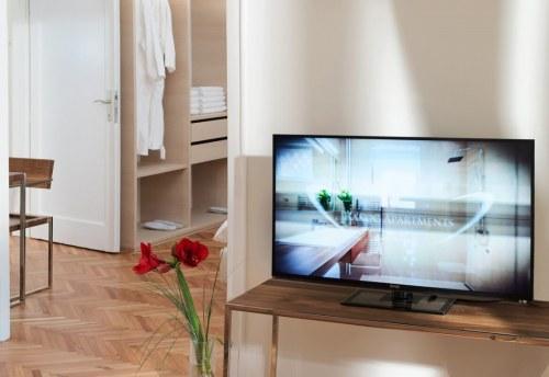 Apartmani Beograd | Smeštaj | Apartman A28 - Detalj iz dnevnog boravka