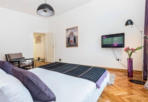 Apartmani Beograd | Apartman A16 | Strogi centar Terazije - Spavaća soba