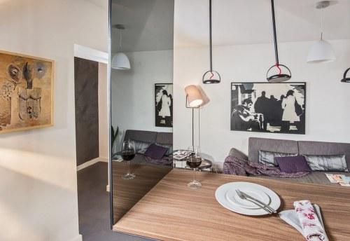 Apartmani Beograd | Luksuzni smeštaj Beograd | Apartman A10 - Dnevni boravak i trpezarija