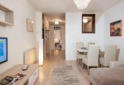 Apartmani Beograd | Centar | Apartman A32 - Dnevni boravak sa pogledom na hodnik