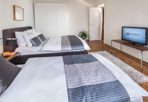 Apartmani Beograd | Sa terasom | Apartman A30 - Spavaća soba