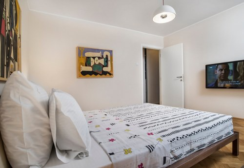 Apartmani Beograd | Apartman A42 | Nušićeva Terazije - Prva spavaća soba