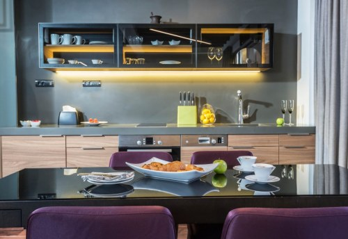 Apartmani Beograd | Luksuzni apartmani u Beogradu | Apartman A34 - Kuhinja i trpezarija