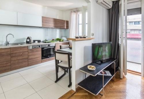 Apartmani Beograd | Apartmani na dan Beograd | Apartman A6 - Kuhinja i trpezarija