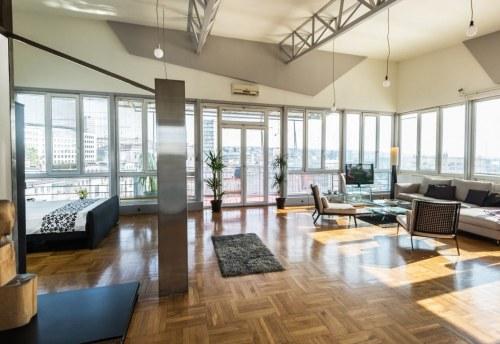 Apartmani Beograd | Jeftini apartmani Beograd | Apartman A4 - Dnevni boravak i spavaća soba