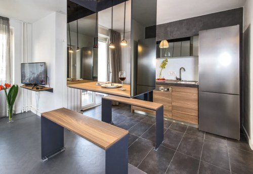 Apartmani Beograd | Luksuzni smeštaj Beograd | Apartman A10 - Trpezarija