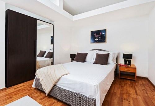Apartmani Beograd | Najjeftiniji smeštaj | Apartman A0' - Spavaća soba