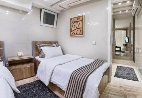 Apartmani Beograd | Jeftin smeštaj sa parkingom | Apartman A0 - Spavaća soba
