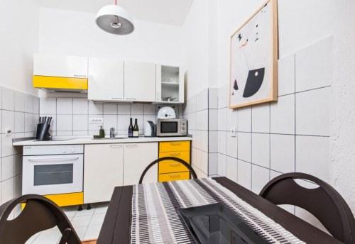 Apartmani Beograd | Apartman A16 | Strogi centar Terazije - Trpezarija i kuhinja
