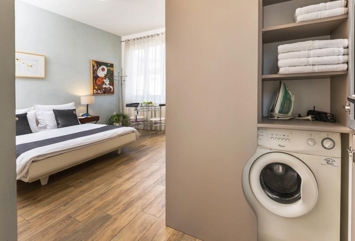 Apartmani Beograd | Jeftin smeštaj Beograd | Apartman A2 - Pogled na dnevni boravak