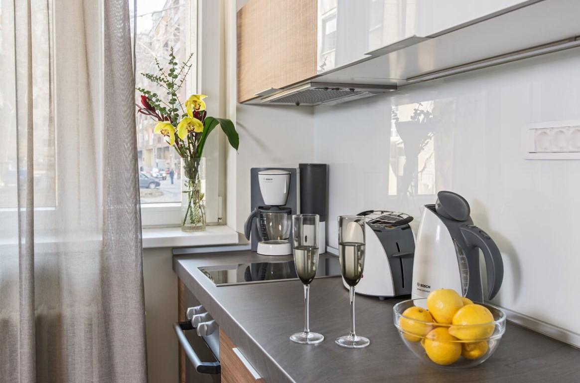 Apartmani Beograd | Smeštaj u Beogradu | Apartman A8 - Kuhinja