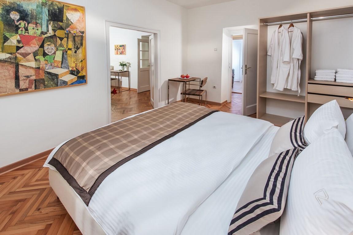 Apartmani Beograd | Smeštaj | Apartman A28 - Spavaća soba