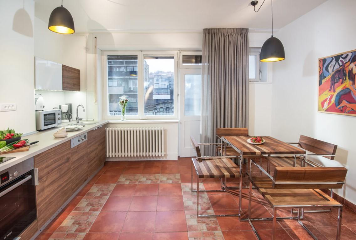 Apartmani Beograd | Sa terasom | Apartman A30 - Kuhinja i trpezarija