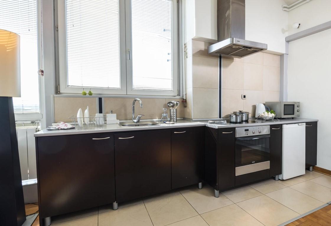 Apartmani Beograd | Jeftini apartmani Beograd | Apartman A4 - Kuhinja
