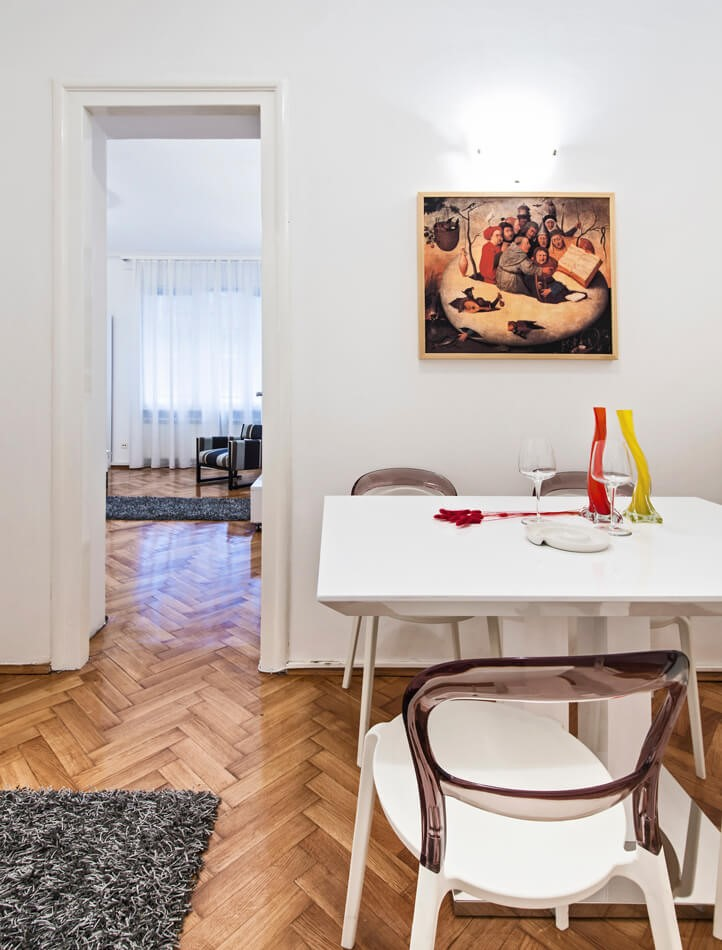 Apartmani Beograd | Strogi centar | Apartman A21 - Trpezarija
