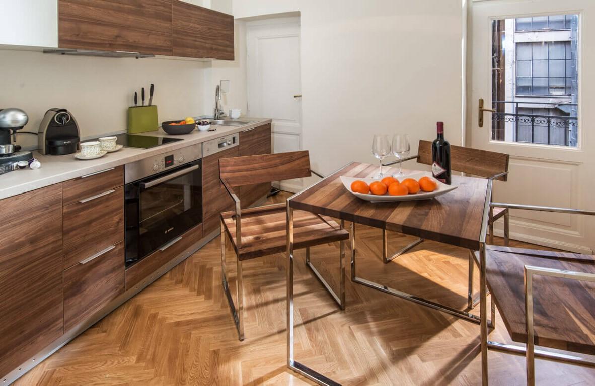 Apartmani Beograd | Smeštaj Beograd | Apartman A33 - Kuhinja i trpezarija