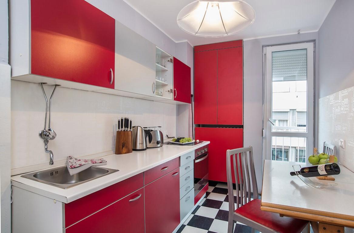 Apartmani Beograd | Apartman A42 | Nušićeva Terazije - Kuhinja i trpezarija