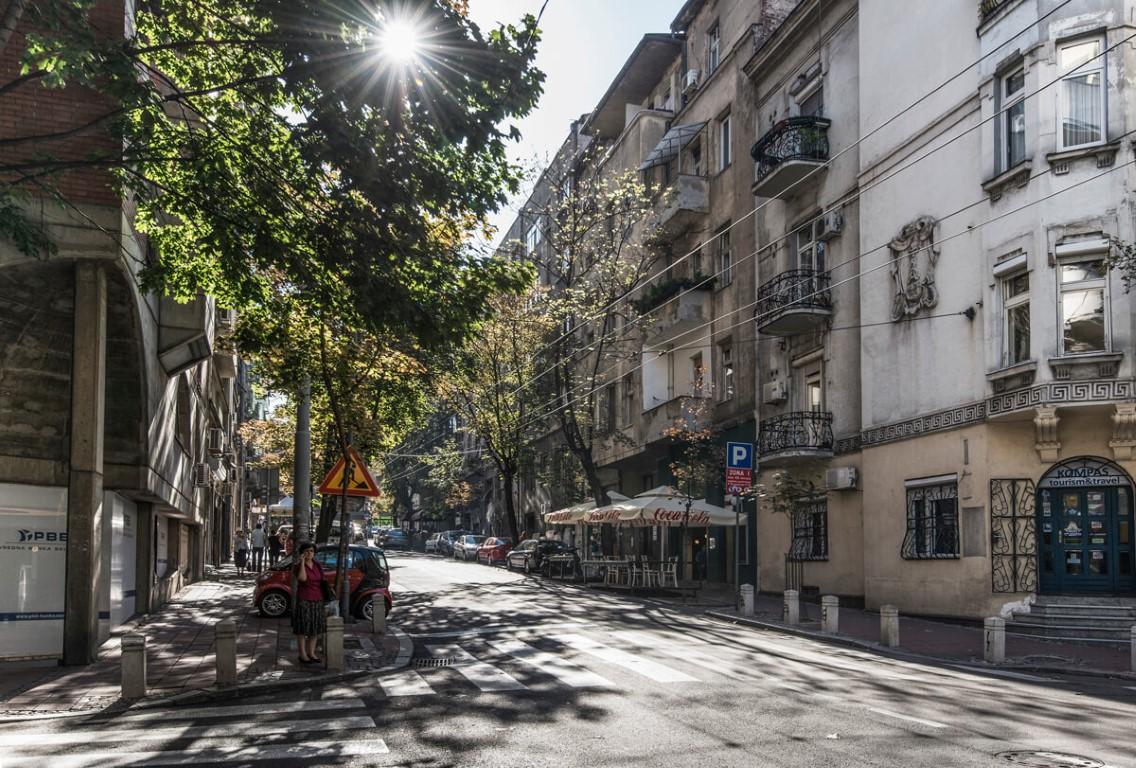 Apartmani Beograd | Apartman A19 | Strogi centar Trg Republike - Pogled iz stana