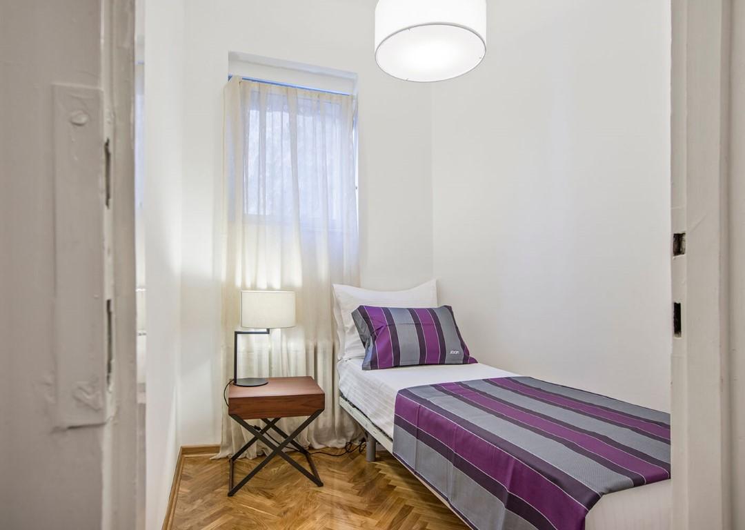 Apartmani Beograd   Apartman A24   Strogi centar Pionirski park - Treća spavaća soba