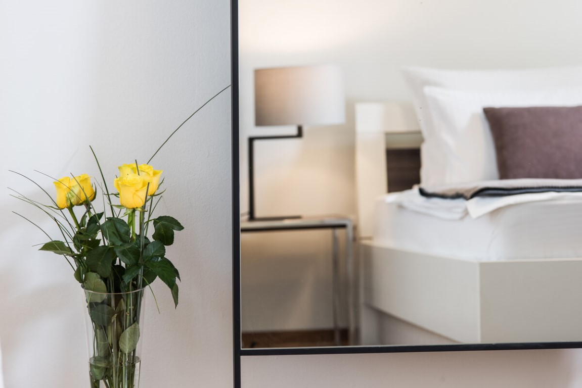 Apartmani Beograd | Pešačka zona | Apartman A12 - Detalj iz spavaće sobe