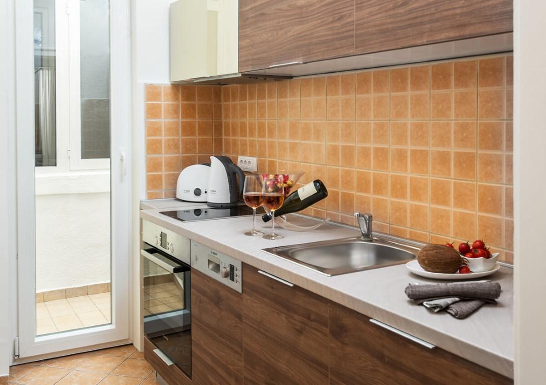 Apartmani Beograd | Smeštaj | Apartman A28 - Kuhinja