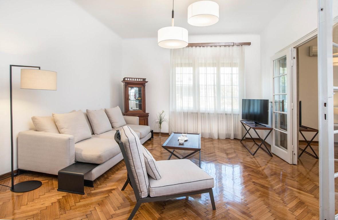 Apartmani Beograd | Apartman A24 | Strogi centar Pionirski park - Dnevni boravak