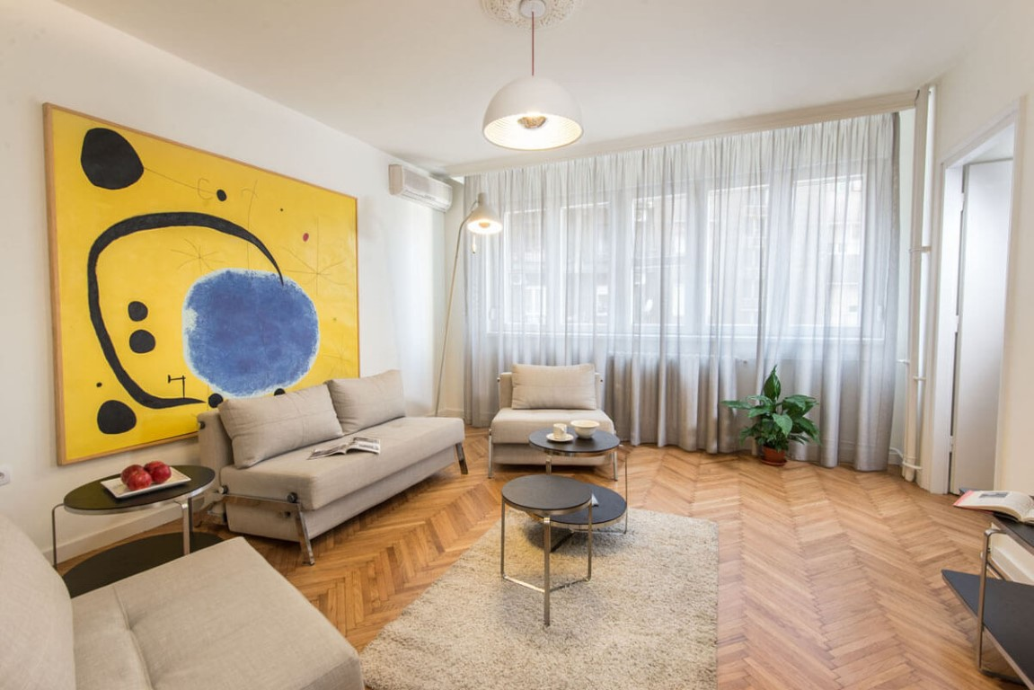 Apartmani Beograd | Smeštaj u Beogradu | Apartman A8 - Dnevni boravak