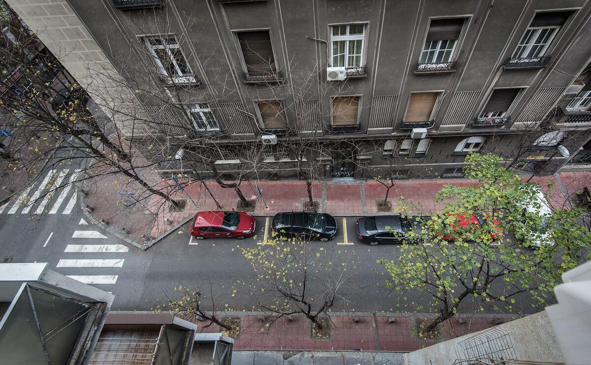 Apartmani Beograd | Lux apartmani Beograd | Apartman A31 - Pogled iz stana