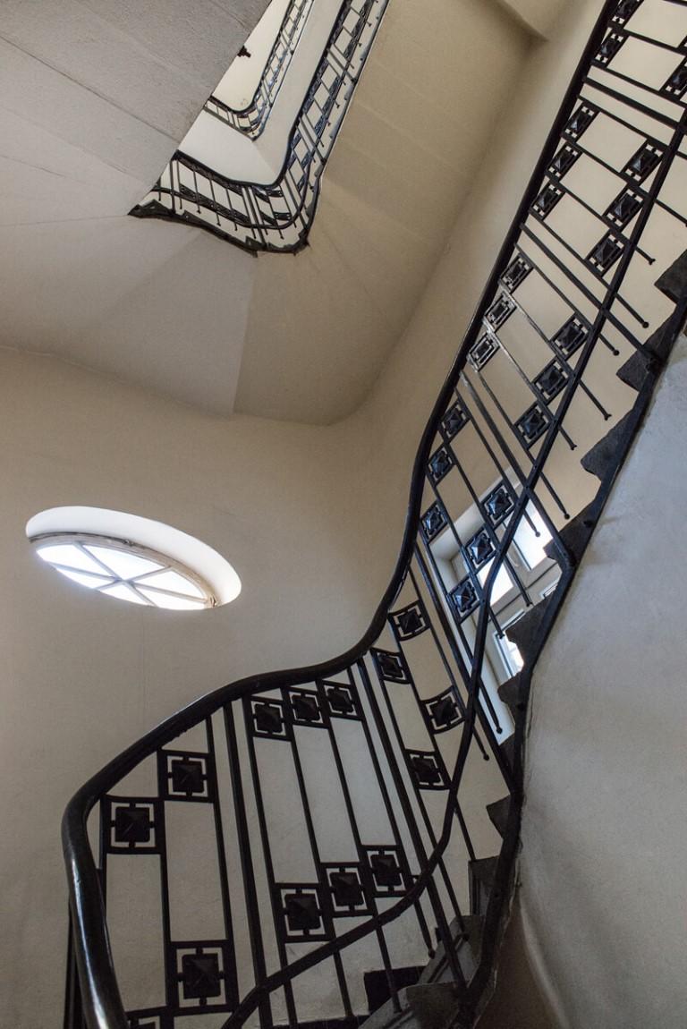 Apartmani Beograd | Pešačka zona | Apartman A12 - Stepenište unutar zgrade